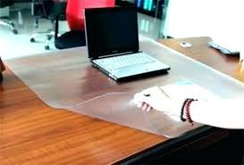 clear table top protector acrylic desk protector how to make an acrylic table protector