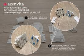 child safety magnetic cabinet locks on amazon azenvita