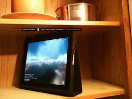 Obama Kitchen Cabinet - diy kitchen ipad cabinet mod install for mother u0027s day obama