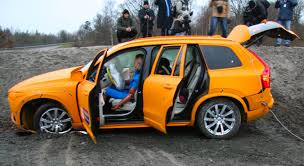 volvo jeep 2015 the all new 2015 volvo xc90 crash test youtube