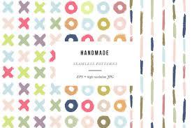 handmade patterns patterns creative market
