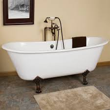 bathroom ambassador 60 inch acrylic slipper clawfoot bathtubs in