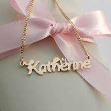 baby name necklace gold kaiu engravable baby jewellery children s jewellery