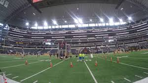 spartan sprint at the dallas cowboy stadium we run through the