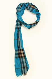 light blue burberry scarf burberry men s giant check crinkled scarf in light turquoise check