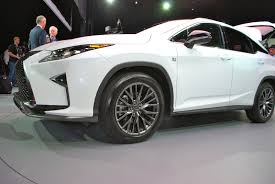 lexus suv cargo space the 2016 lexus rx tries to have fun by copying its little brother