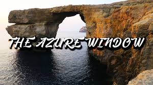 Azure Window Rip Azure Window Gozo Malta 2017 Youtube