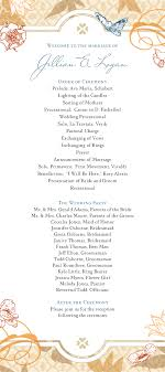 ceremony order for wedding programs wedding ceremony program clipart 43