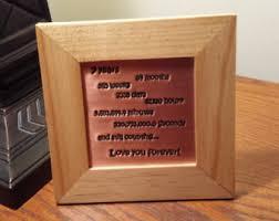 7 year anniversary gift 7th anniversary gift etsy