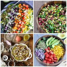 healthy colors 25 healthy vegan salad recipes my whole food life
