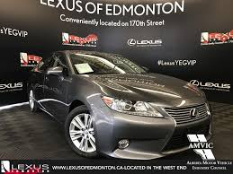 used lexus es 350 used car specials edmonton ab at lexus of edmonton