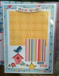 Scrapbook Page Protectors Artsy Albums Mini Album And Page Layout Kits And Custom Designed