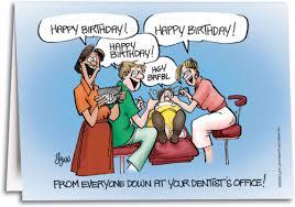 birthday dental chair folding card smartpractice dental