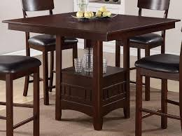 High Dining Room Table Set by Attractive Tall Breakfast Table Set High Top Dining Table Set High