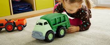 toddler toy car green toys made safe in the usa