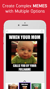 Meme Creator App - meme creator make caption generator meme maker by space o digicom