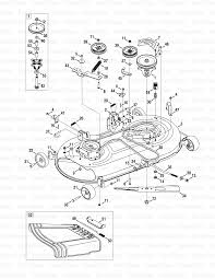 craftsman 42 inch mower deck parts list deks decoration