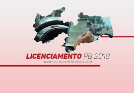 pagamento mes agosto estado paraiba licenciamento 2018 pb valor tabela detran