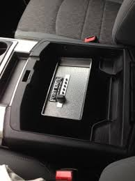Dodge Gun Vaults Gun Safe For Console Dodge Ram Forum Dodge Truck Forums