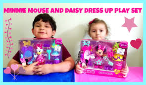 minnie mouse and daisy duck halloween costume minnie mouse and daisy dress up kit youtube