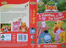 book pooh valentine eeyore vhs 2003