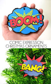 comic expressions christmas ornaments free printable free