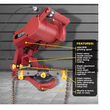 use and safety tips of chainsaw sharpener