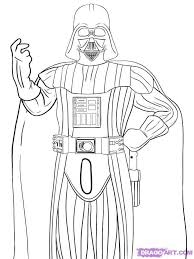 Darth Vader Coloring Pages To Print For Star Wars Lovers Darth Vader Coloring Pages
