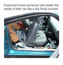 The Rock Meme Car - everyone knows someone who treats the inside of their car like a