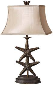 uttermost 26997 starfish table lamp amazon com