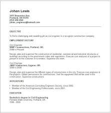 sample of resume for civil engineer resume format for job student