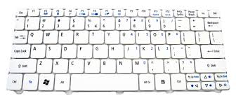 Keyboard Acer Aspire D270 keyboard acer aspire one d255 d257 d260 d270 521 532 533 white