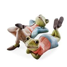buy fred freda the set of two relaxing frog home or garden