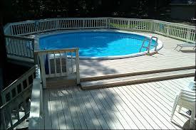outdoor marvelous backyard above ground pool deck ideas semi