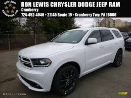 jeep durango interior 2016 bright white dodge durango r t awd 110586237 gtcarlot com
