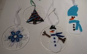 2009 fused glass ornaments by reflectionsshattered on deviantart