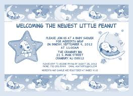 How To Make Baby Shower Invitation Cards Snoopy Baby Shower Invitations Kawaiitheo Com