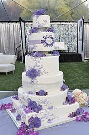 wedding cake lavender vanilla bake shop wedding cakes