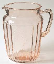 Pink Depression Glass Vase Anchor Hocking Mayfair Pink At Replacements Ltd