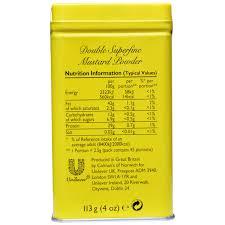 coleman s mustard colman s superfine mustard powder 4 oz 113 g iherb