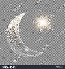 eid celebration ornament vibrant background bokeh stock vector