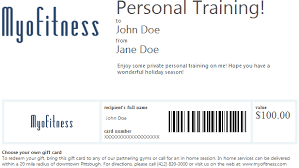 online gift card purchase gift card personal fitness in pittsburgh