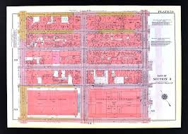 Macy S Herald Square Floor Plan by 1955 Bromley New York City Map Garment Midtown Herald Square