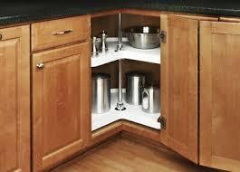 corner kitchen cabinet kidney tray corner kitchen cabinet lazy susan rotating shelf ebay