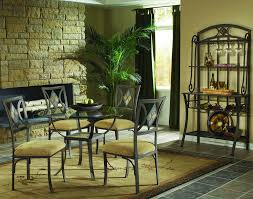 Glass Round Dining Room Table by Luxury Contemporary Design Bakers Racks Furniture Furniture