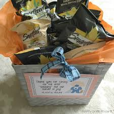 Postpartum Gift Basket Happy As We Know It Nurse Gifts After Delivery