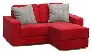 Small Chaise Holl 2 Seat Compact Chaise Corner Sofa Nabru
