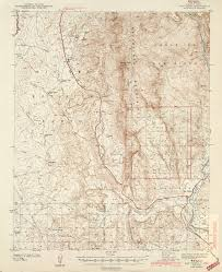 Porter Ranch Map New Mexico Historical Topographic Maps Perry Castañeda Map
