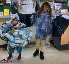 Halloween Costumes Storm Cloud Lightning Victim Costume