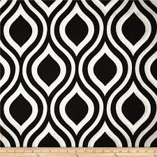 home decor weight fabric premier prints emily black from fabricdotcom screen printed on